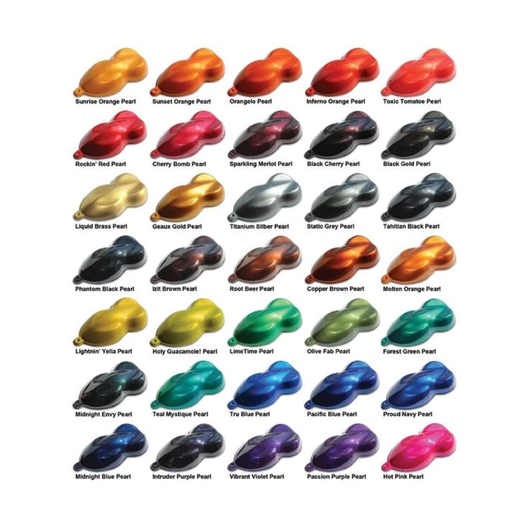 400 Series Pearl Basecoat Clearcoat Car Paint Kit