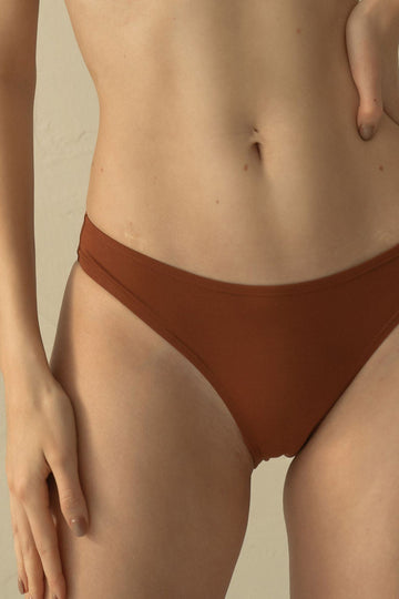 Bamboo Undies - Cinnamon Apparel & Accessories > Clothing > Underwear & Socks > Underwear GAEA Underwear
