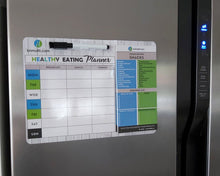 Load image into Gallery viewer, BN Healthy Eating Planner on Fridge