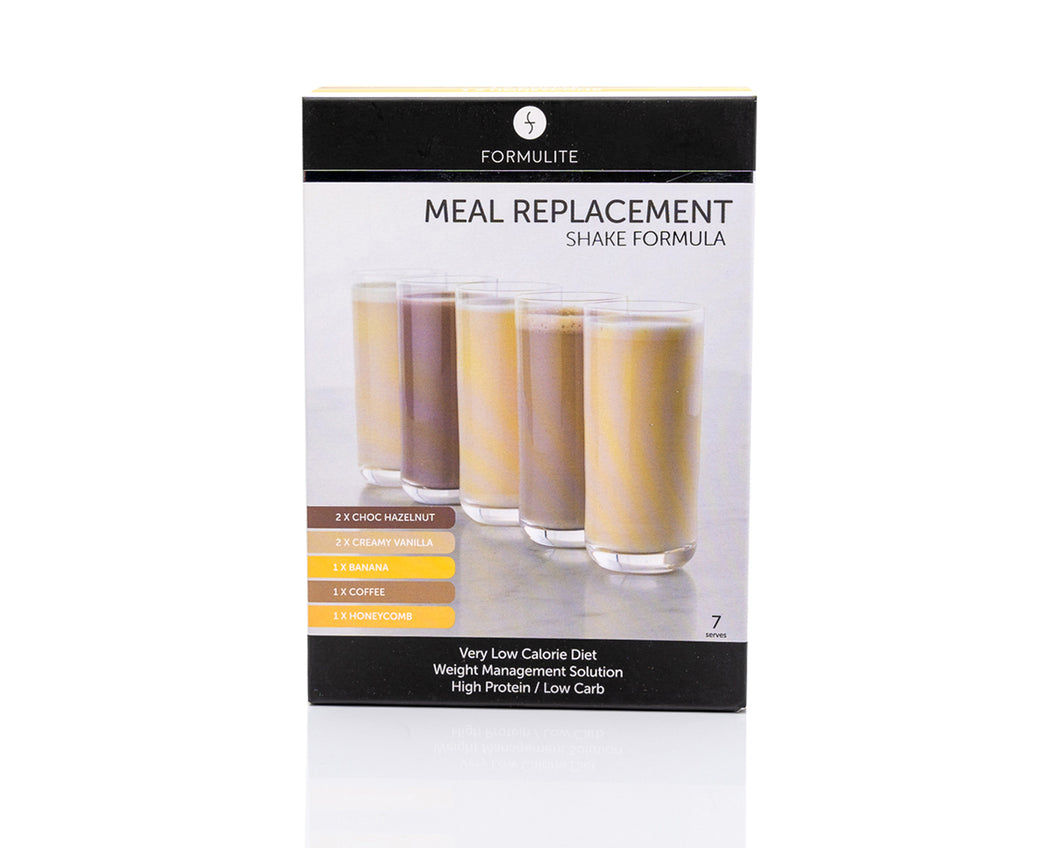 Meal Replacement Shake Trial Pack Box