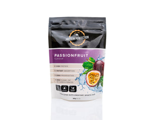 Protein Water Passionfruit Bag Front