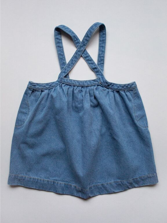 The Oversized Denim Pinafore (4720814620765)