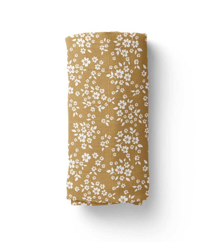 Whimsical Floral Swaddle