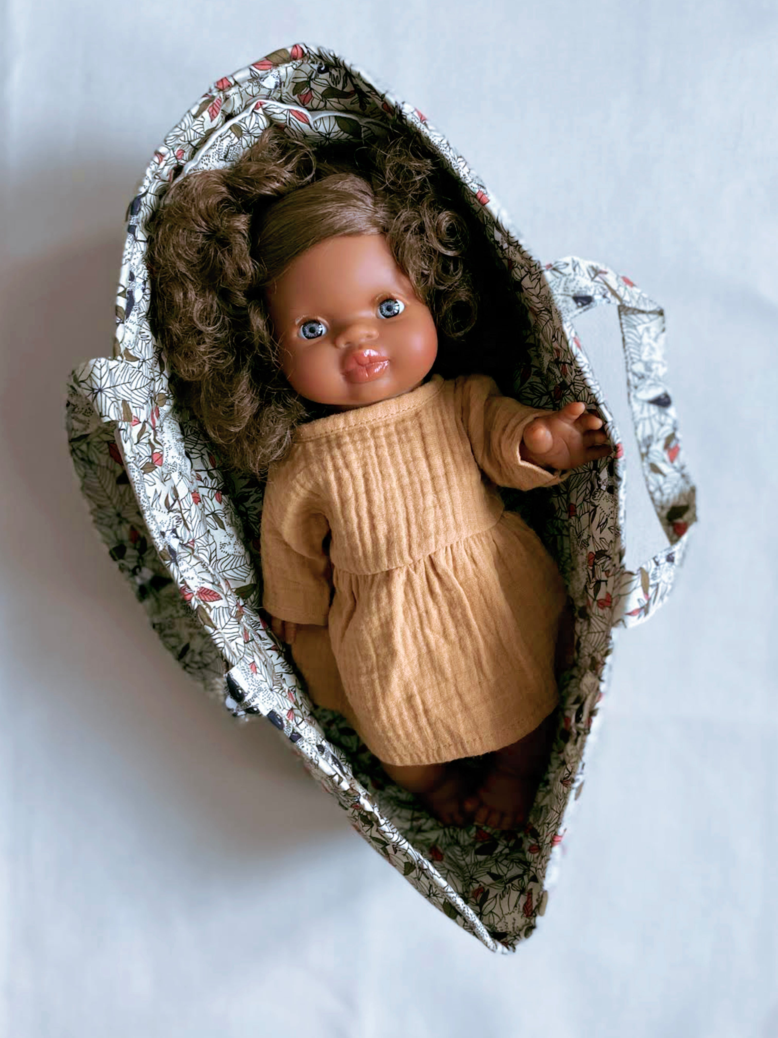 Wilderness Fabric Doll Bassinet
