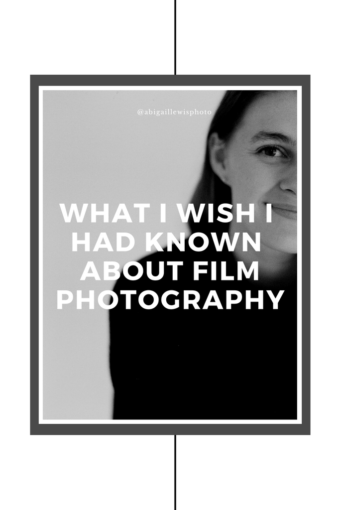 What I Wish I would've known about film photography before I started learning how to shoot film photos