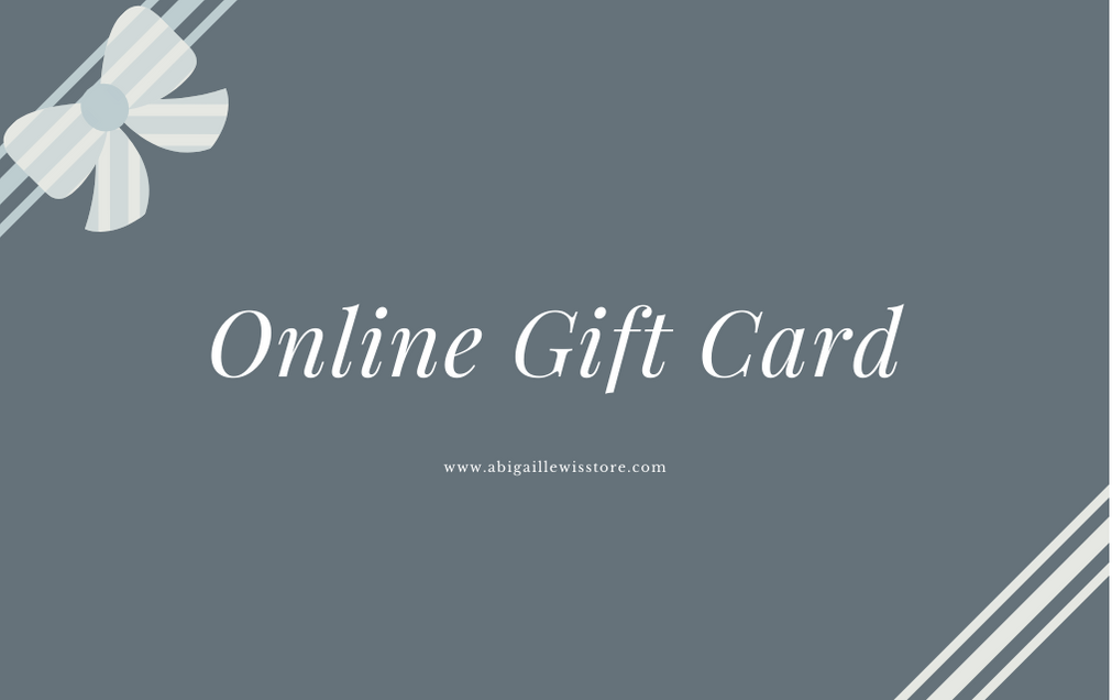 Gift Card | Online Store