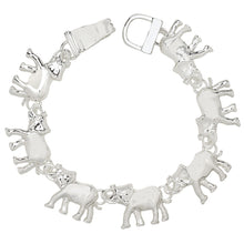 Load image into Gallery viewer, Elephant Magnetic Closured Bracelet