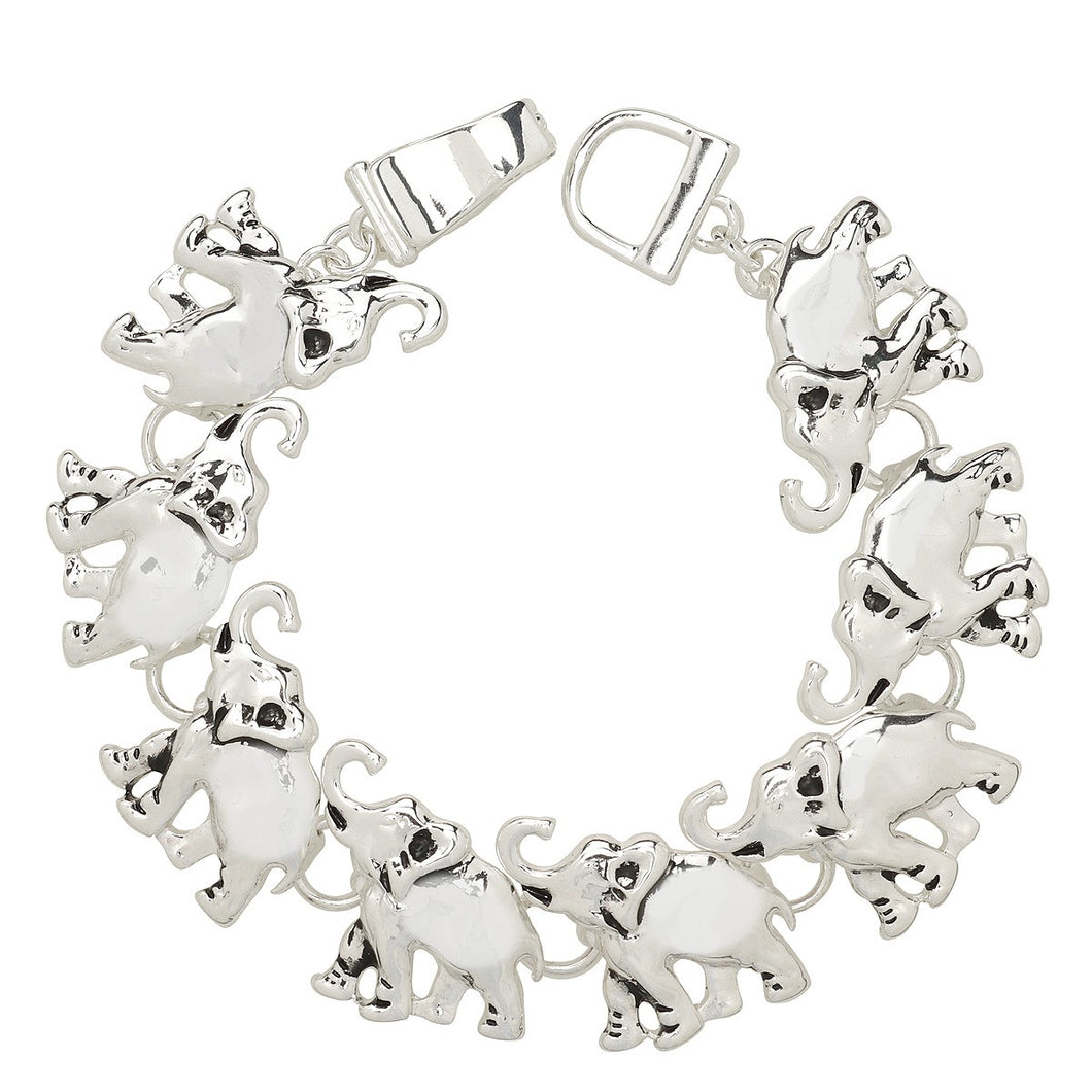 Elephant Magnetic Closured Bracelet