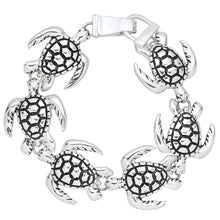 Load image into Gallery viewer, Sea Turtle Magnetic Closured Bracelet