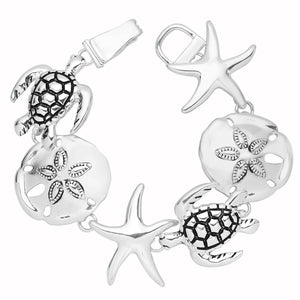 Sea Life Magnetic Closured Bracelet