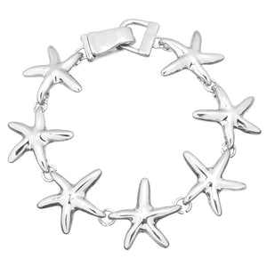Starfish Magnetic Closured Bracelet