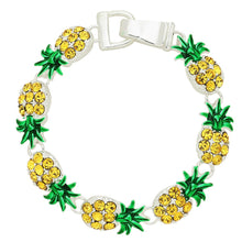 Load image into Gallery viewer, Pineapple Magnetic Closured Bracelet