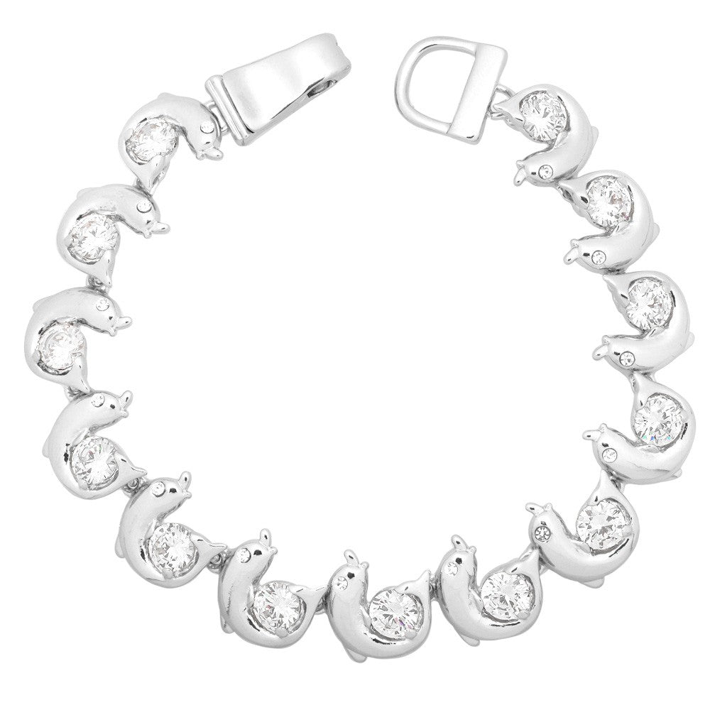Dolphin Magnetic Closured Bracelet