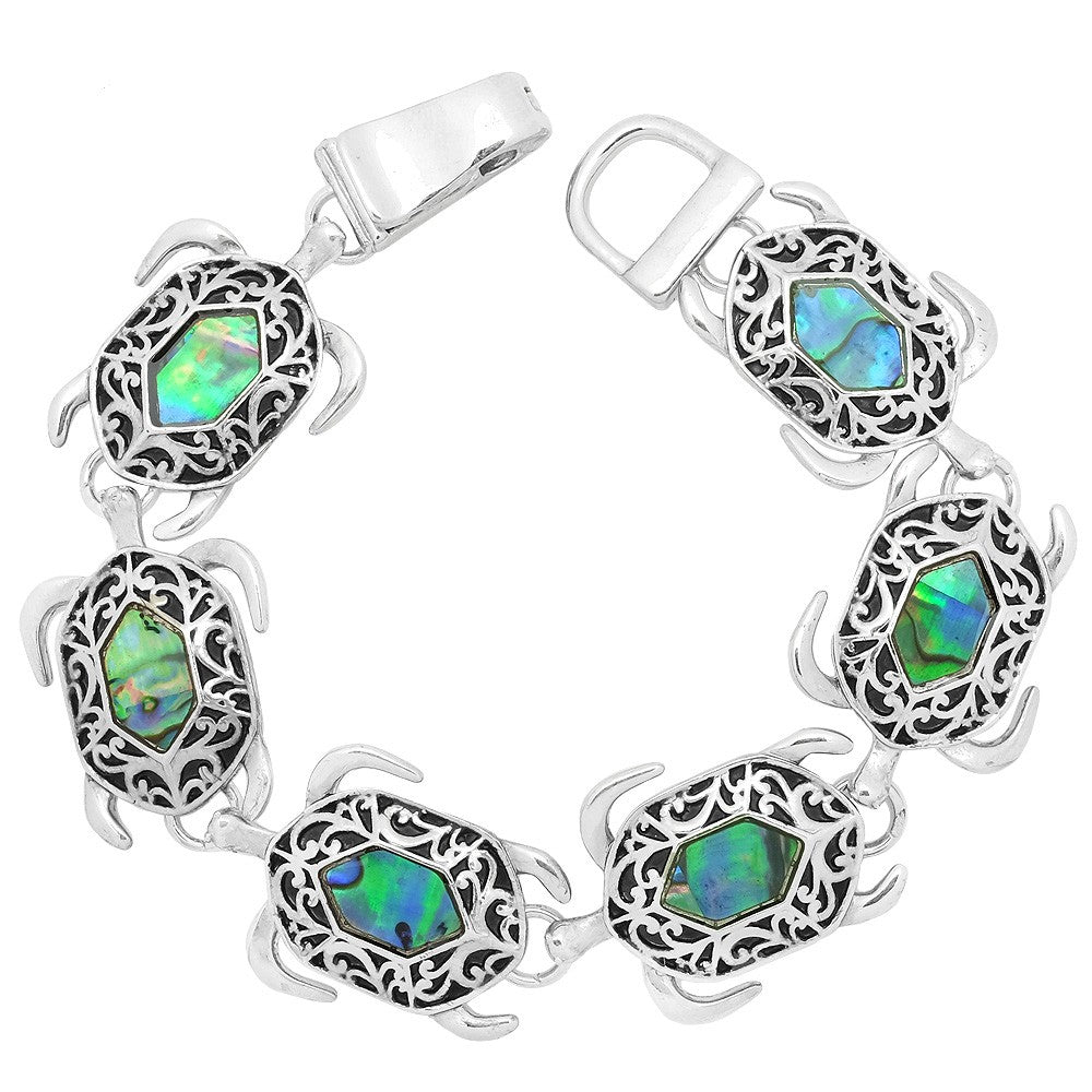 Sea Turtle Magnetic Closured Bracelet