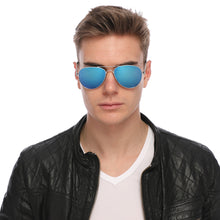 Load image into Gallery viewer, Aviator Sunglasses Classic - Non-Polarized - Silver Frame - Blue/Royal Mirror