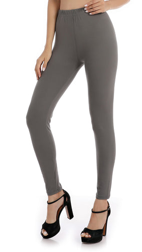 Falari Classic Leggings - Dark Grey