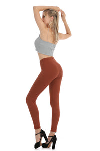 Falari Classic Leggings - Light Brown