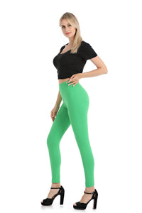 Falari Classic Leggings - Light Green