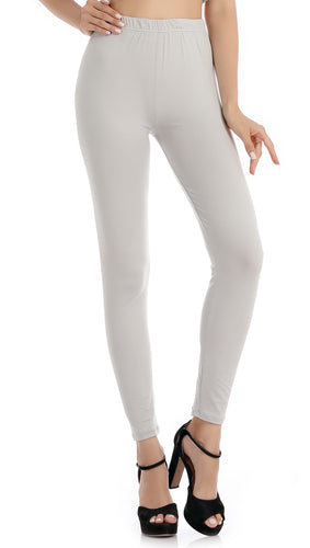 Falari Classic Leggings - Light Grey