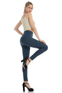 Falari Classic Leggings - Navy