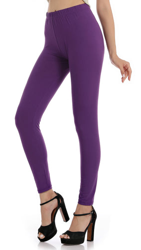 Falari Classic Leggings - Purple