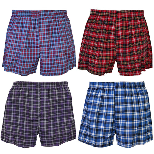 Falari 4-Pack Boy Boxer Underwear 100% Cotton Premium Quality
