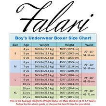 Load image into Gallery viewer, Falari 4-Pack Boy Boxer Underwear 100% Cotton Premium Quality