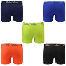 Load image into Gallery viewer, Falari 5-Pack Boy's Boxer Brief Underwear Cotton Ultimate ComfortSoft Premium Quality