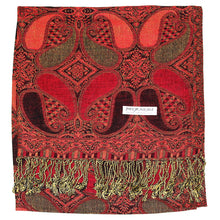 Load image into Gallery viewer, Women's Paisley Pashmina Shawl