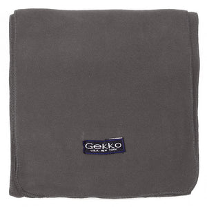 Men Women Fleece Scarf - Dark Grey