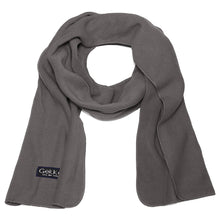 Load image into Gallery viewer, Men Women Fleece Scarf - Dark Grey