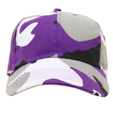 Load image into Gallery viewer, Classic Baseball Cap Soft Cotton Adjustable Size - Purple Camouflage