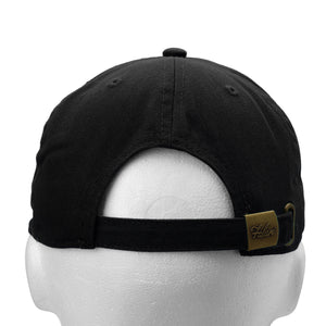 Classic Baseball Cap Soft Cotton Adjustable Size - Black