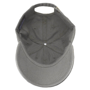 Classic Baseball Cap Soft Cotton Adjustable Size - Grey