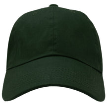 Load image into Gallery viewer, Classic Baseball Cap Soft Cotton Adjustable Size - Hunter Green