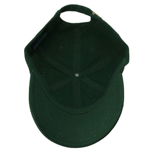 Classic Baseball Cap Soft Cotton Adjustable Size - Hunter Green