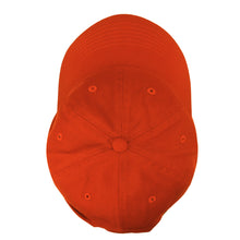 Load image into Gallery viewer, Classic Baseball Cap Soft Cotton Adjustable Size - Orange