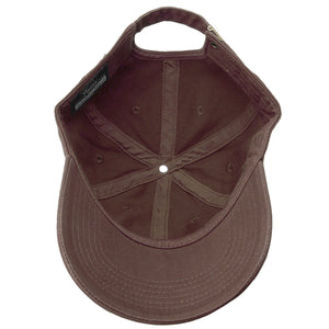 Classic Baseball Cap Soft Cotton Adjustable Size - Dark Brown