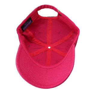 Classic Baseball Cap Soft Cotton Adjustable Size - Hot Pink