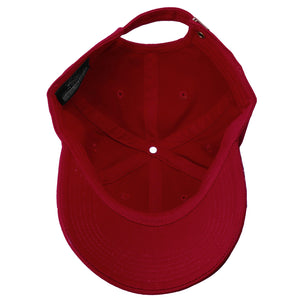 Classic Baseball Cap Soft Cotton Adjustable Size - Wine