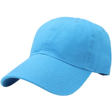 Load image into Gallery viewer, Classic Baseball Cap Soft Cotton Adjustable Size - Turquoise