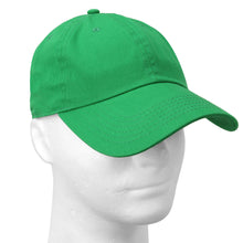 Load image into Gallery viewer, Classic Baseball Cap Soft Cotton Adjustable Size - Kelly Green
