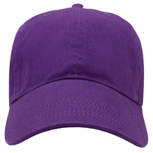 Load image into Gallery viewer, Classic Baseball Cap Soft Cotton Adjustable Size - Dark Purple