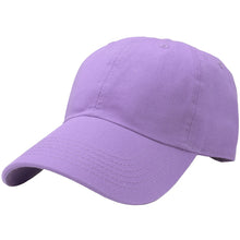 Load image into Gallery viewer, Classic Baseball Cap Soft Cotton Adjustable Size - Lavender