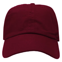 Load image into Gallery viewer, Classic Baseball Cap Soft Cotton Adjustable Size - Burgundy