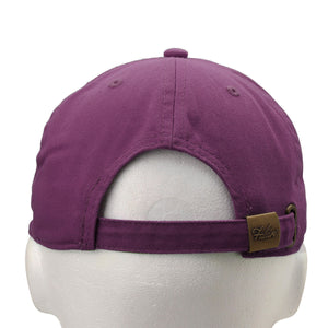 Classic Baseball Cap Soft Cotton Adjustable Size - Mulberry