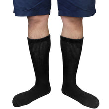 Load image into Gallery viewer, Physicians Approved Diabetic Socks Crew Unisex 6-Pairs