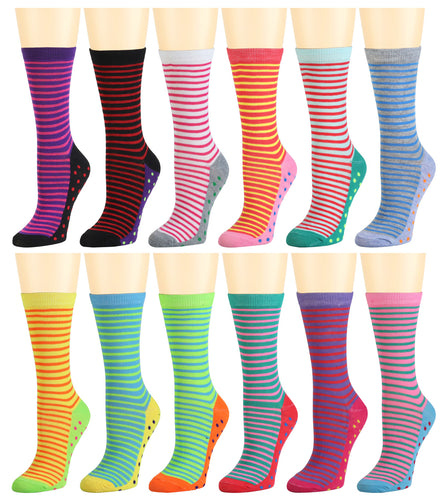 12-Pack Women's Crew Socks