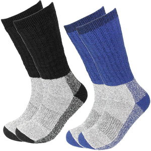 2 Pairs Wool Socks Excellent for Cold Weather