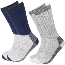 Load image into Gallery viewer, 2 Pairs Wool Socks Excellent for Cold Weather
